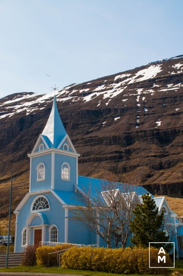The church of Seydisfjordur